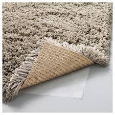 rectangle high pile Beige 133x195 cm ikea shag rug for fancy floor decor  idea
