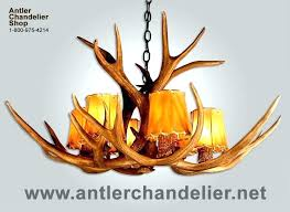 antlers chandeliers