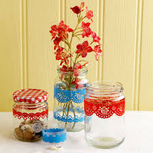 Jam Jar Decorating Ideas About YoursTrulyHandmade DIY Home Rennovations And A Lot 57