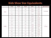 Famous Footwear Kid Shoe Size Chart 2019 Shoe Size Chart