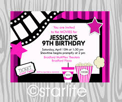 make your own birthday invitations free printable 041 il fullxfull template ideas vintage movie ticket