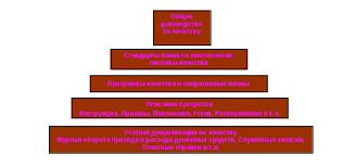 Внедрение системы менеджмента качества в банковской деятельности  Уровни документов системы менеджмента качества в банке ВТБ 24 ЗАО