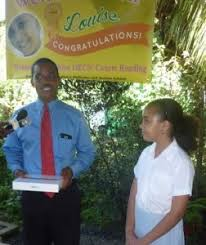 OECS Reading Competition winner describes feelings - Dominica News Online