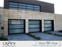 aluminum glass garage doors