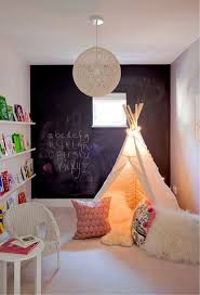 Minimalist Tent Reading Nook For Kids