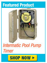 pool electric wiring information for pumps heaters lights and more pool perfect phos intermatic pool pump timer