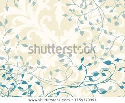 Fancy Background Design Ivy Background Design Vector Vines Leaves Stock Vector Royalty Free
