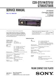 sony cdx gt550 wiring diagram sony image wiring sony cdx f7750 service manual schematics eeprom on sony cdx gt550 wiring diagram