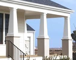 exterior column wraps. Column Wraps Plain Tapered Wrap Exterior Home Depot Canada Australia S