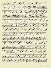 Copperplate Practice Sheet 3   Letters, Penmanship and Copperplate ...