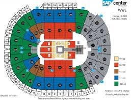 Sap Center Seating Chart Seating Chart