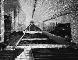 interior of the crystal cathedral garden grove ca 1980