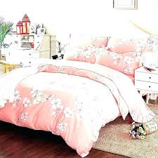 cherry blossom duvet covers creative cover pottery barn natori pink