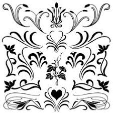 how to get free custom frame and border shapes for photoshop and House Plan Photoshop Brushes free fancy floral flourish shapes and brushes for photoshop florals with flourish solid set 1 house design photoshop brushes