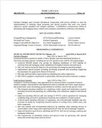 Hvac Resume Template Simple Hvac Resume Samples Sample Resume