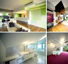 postmodern interior architecture. Post Modern House Design Funky Offbeat Postmodern Home Interior Architecture M