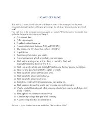 39 FREE Newspaper English Worksheets