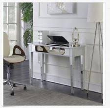 mirror and table for foyer. Item 3 Silver Mirrored Table Vanity Make Up Desk Console 2 Drawers Bedroom Glam Modern -Silver Mirror And For Foyer