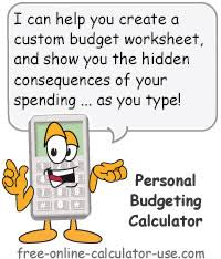 Personal Budgeting Freeware Personal Budgeting Calculator A Real Game Changer