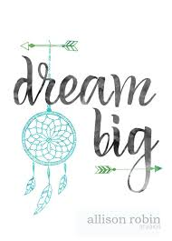 Big Dream Catcher For Sale Dream Big Dream Catcher Art Print Allison Robin Studios 65
