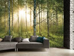 FOREST SCENE WALL MURAL (3.6m 2.53m)