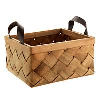 woven wood basket. Interesting Wood Set Of 2 Dipped Baskets Small Woven Wood Basket  And N