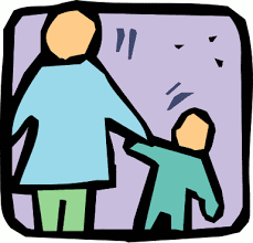 Image result for kids holding hands with parents cartoon