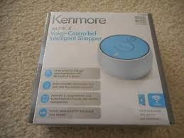kenmore alfie. brand new in box kenmore alfie voice-controlled intelligent shopper