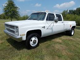 1986 86 Chevrolet Chevy K30 1 one ton 4x4 Four Wheel Drive crew ...