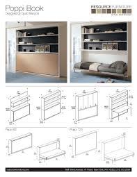 resource furniture murphy bed. Poppi Book | Resource Furniture Wall Beds \u0026 Murphy Bed .