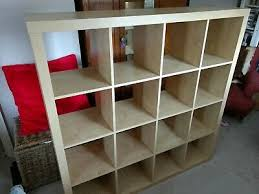 ikea expedit storage bookcase shelving unit 150cm x 150cm beech
