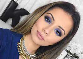 royal blue eye makeup to make your hazel eyes pop pinit
