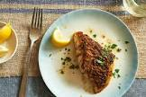baked tilapia with herb butter