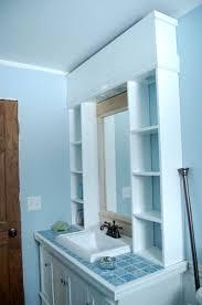 bathroom mirror with storage. diy double bathroom vanity addicted 2 diy, diy building cabinets around - tsc mirror with storage
