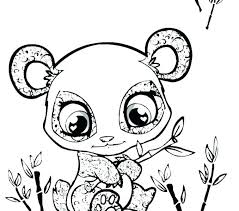 Elephant Coloring Pages Cute Animal Print Baby Animal Coloring Pages