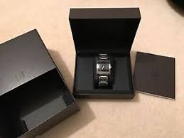 dunhill watch unworn dunhill dm7 digital quartz watch rrp £1200