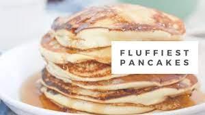 pancakes without baking powder aka