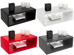 livivo floating shelf wall mounted wooden cube sky box dvd hifi wifi unit shelve