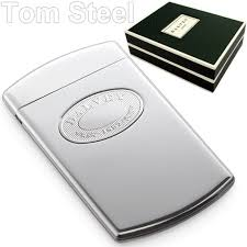 Steel Business Cards Dalvey Stainless Steel Business Card Case Credit Cards Ebay