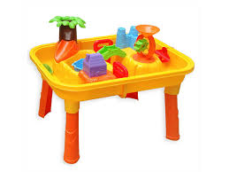 palm island beach sand and water table play set on