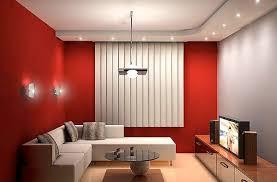 red living room interior design ideas 18