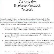 Free Employees Handbook Free Employee Handbook Template Australia
