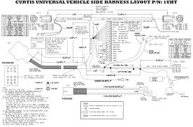 boss plow wiring diagram truck side solenoid mifinder co adorable fisher