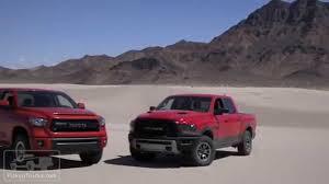 4x4 Challenge Ram Rebel Vs Toyota Tundra TRD Pro - YouTube
