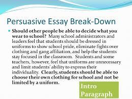 persuasive essay on wearing school uniforms school uniform debate essay should kids wear school uniforms essay slb etude d avocats essay essay
