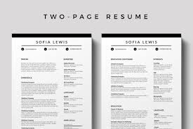 Bourges Resume Template