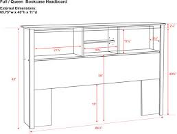 Twin Size Headboard Dimensions Napa Deluxe Storage Platform Bed With Headboard Ltdonlinestorescom