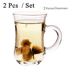home office turkey. 2 pcs set glass tea water cup drinking ware home office coffee milk turkey