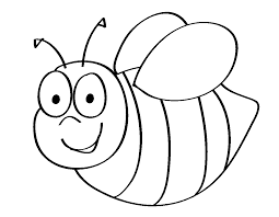 Bee And Flower Coloring Pages Getcoloringpagescom