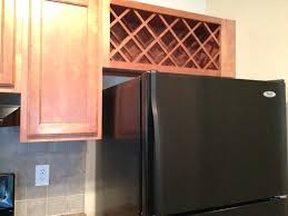 Refrigerator With Cabinet Doors Bridge Cabinet Above Fridge Cabinets